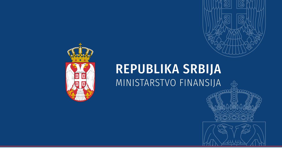 Republika Srbija ministarstvo finansija